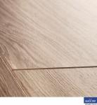 Ламинат Quick-Step Perspectivе Доска дубовая светло-серая лакированная