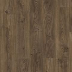 Замковая виниловая плитка Quick-Step Balance Click Plus Дуб коттедж темно-коричневый