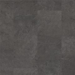 Замковая виниловая плитка Quick-Step Ambient Click Сланец  чёрный