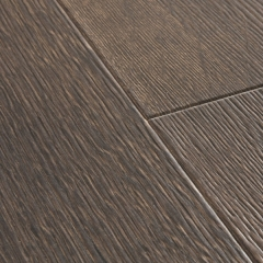 Ламинат Quick-Step Majestic Дуб пустынный шлифованный темно-коричневый